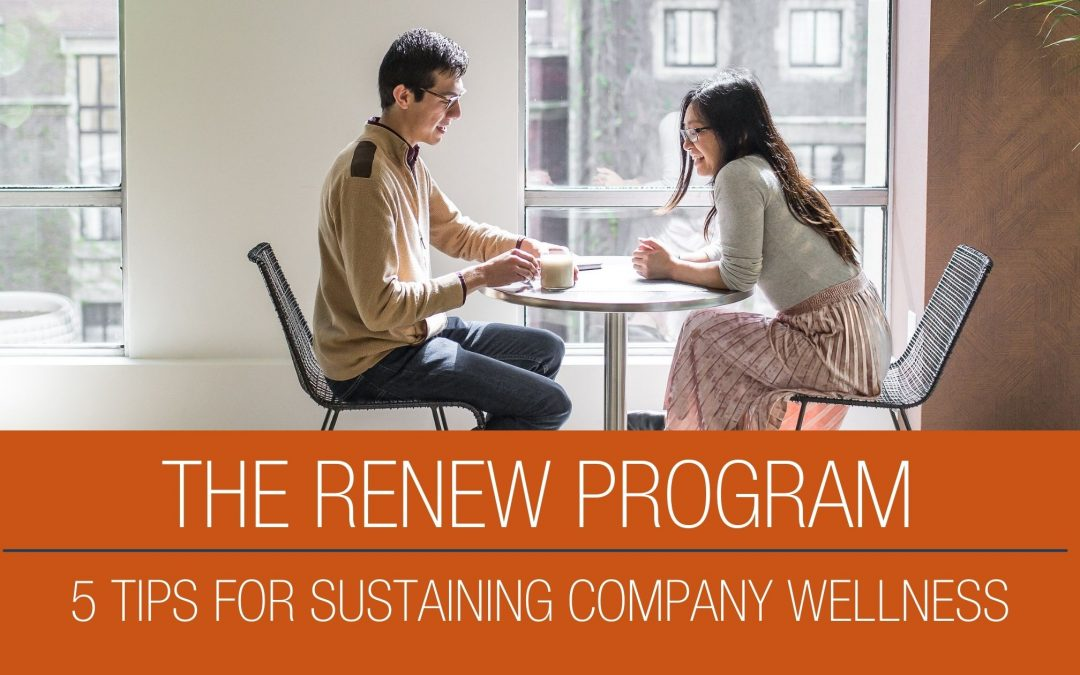 5 Tips for Sustaining a Company Wellness Program